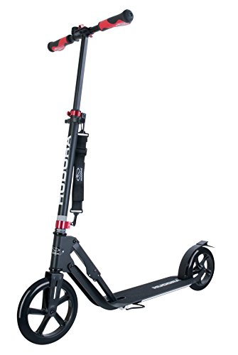 HUDORA Big Wheel Scooter Style 230,schwarz - Tret-Roller klappbar - City-Scooter