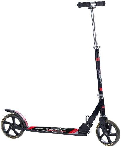 PEARL Cityroller: Klappbarer City-Roller CR-96X Sports mit XXL-Rädern, bis 100 KG (Roller mit großen Rädern)