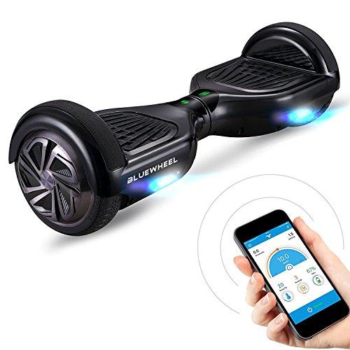 6.5' Premium Hoverboard Bluewheel HX310s - Deutsche Qualitäts Marke - Kinder Sicherheitsmodus & App - Bluetooth Lautsprecher - Starker Dual Motor - LED - Elektro Skateboard Self Balance Scooter